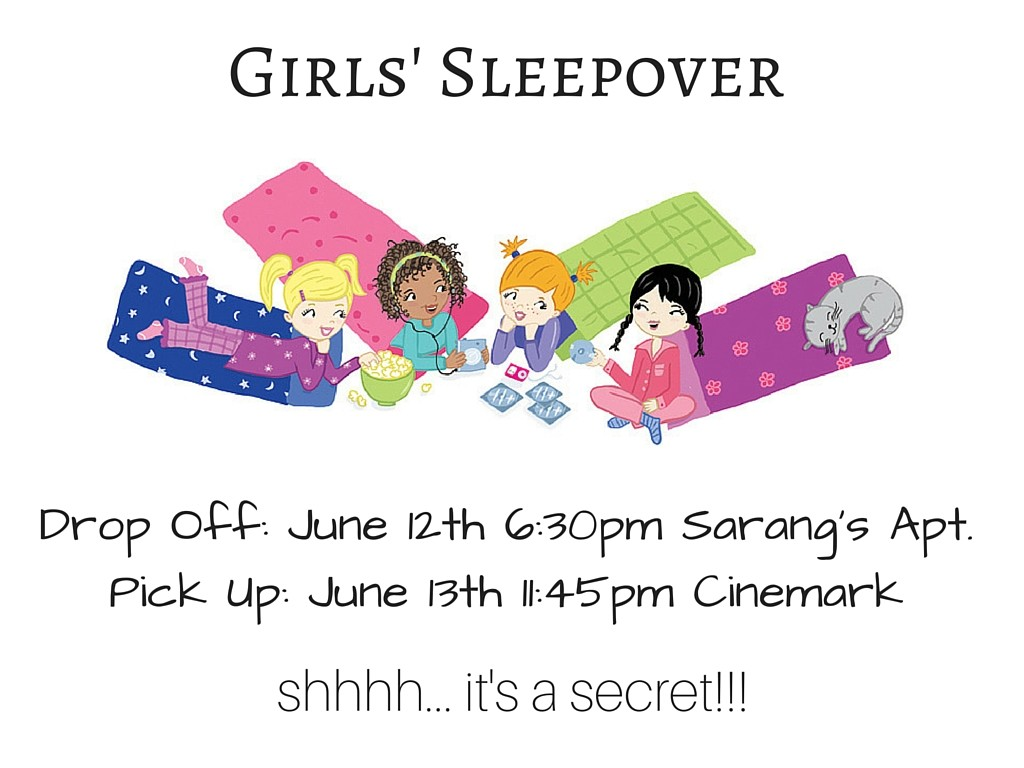 Girls' Sleepover