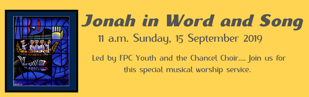 Jonah in Word and Song