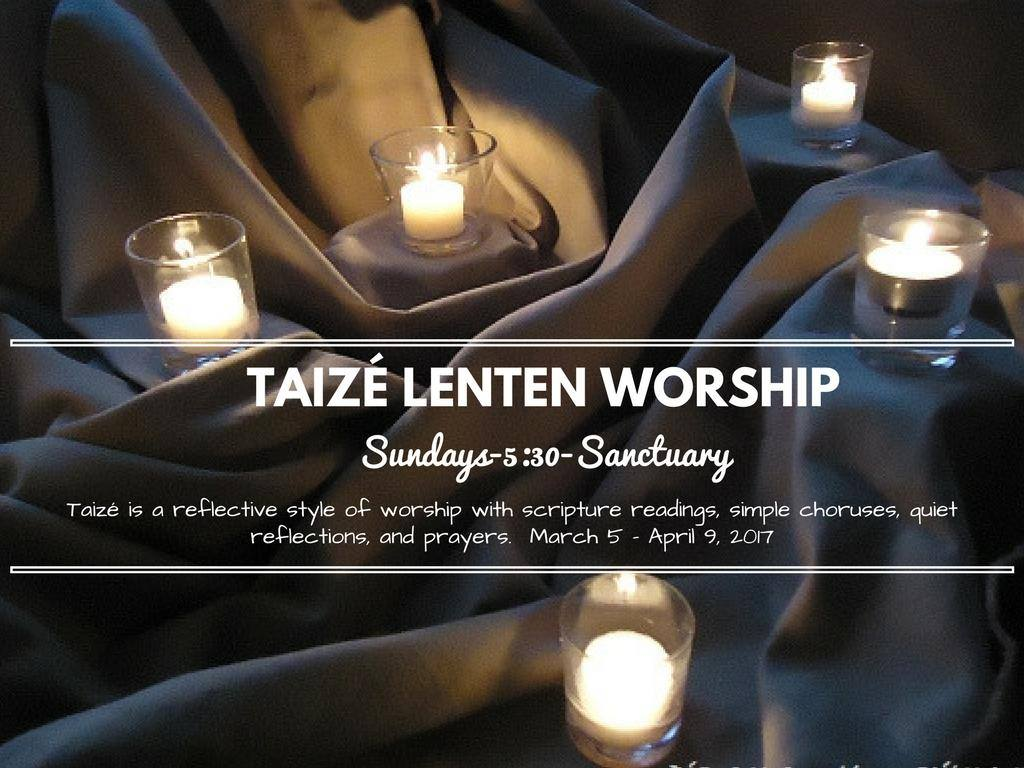 Taizé in Lent