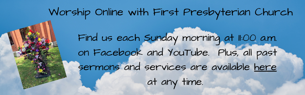 Online Worship with FPC